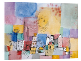 Akrylbillede  German City BR - Paul Klee