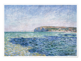Premium-plakat shadows on the sea at Pourville