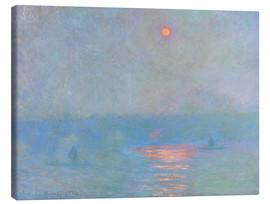 Lærredsbillede  Waterloo Bridge - Claude Monet