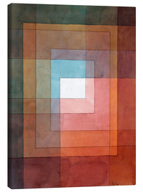 Lærredsbillede  White framed polyphonically - Paul Klee