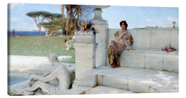 Lærredsbillede  The Voice of Spring. - Lawrence Alma-Tadema