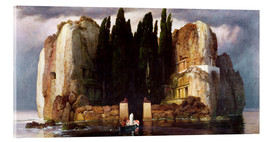 Akrylbillede  The Isle of the Dead - Arnold Böcklin