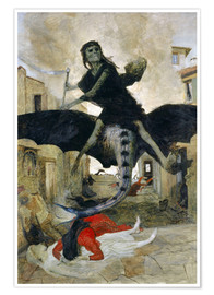 Premium-plakat  The Plague - Arnold Böcklin