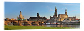 Akrylbillede  Dresden Canaletto view - FineArt Panorama