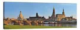 Lærredsbillede  Dresden Canaletto view - FineArt Panorama