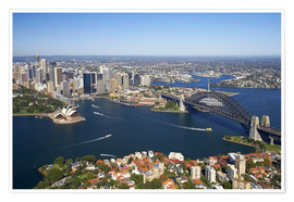 Premium-plakat  Sydney skyline - David Wall