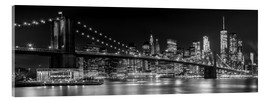 Akrylbillede  New York City Skyline - Melanie Viola