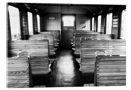 Akrylbillede  Old train compartment - Falko Follert