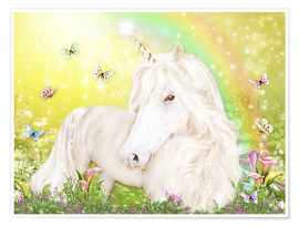 Premium-plakat Unicorn of Happiness
