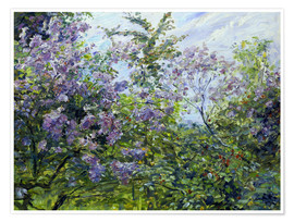 Premium-plakat Blossoming lilac. About 1921
