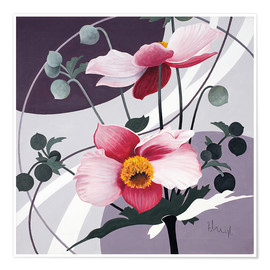 Premium-plakat Swinging blossoms
