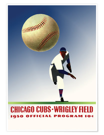 Premium-plakat chicago cubs 1950