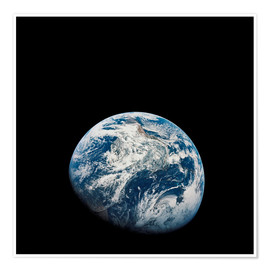 Premium-plakat Earth from the viewpoint of Apollo 8