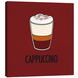 Lærredsbillede  Cappuccino, for the italian lover in you! - JASMIN!