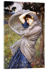 Akrylbillede  Boreas - John William Waterhouse