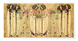 Premium-plakat  The Wassail - Charles Rennie Mackintosh