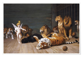 Premium-plakat  Whoever you are, Here is your Master - Jean Leon Gerome