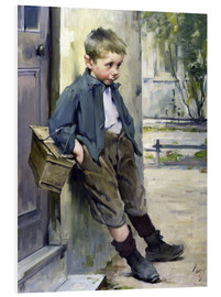 Print på skumplade  Out of the Game - Henri Jules Jean Geoffroy