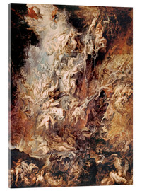 Akrylbillede  The Fall of the Damned - Peter Paul Rubens
