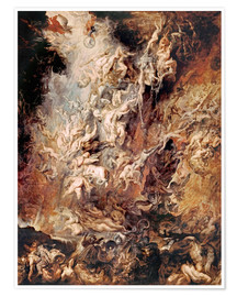 Premium-plakat  The Fall of the Damned - Peter Paul Rubens