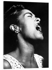 Akrylbillede  Billie Holiday