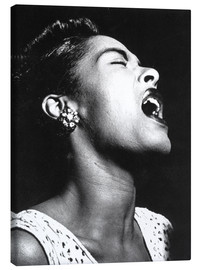 Lærredsbillede  Billie Holiday