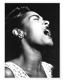 Premium-plakat  Billie Holiday