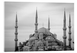 Akrylbillede  the blue mosque in Istanbul / Turkey - gn fotografie