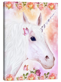 Lærredsbillede  Loving Unicorn - Dolphins DreamDesign