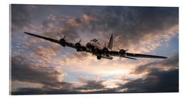 Akrylbillede  The Flying Fortress - airpowerart