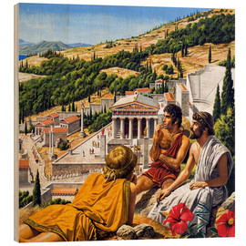 Print på træ  Ancient Greece - Roger Payne