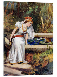 Akrylbillede  The Frog Prince - William Henry Margetson