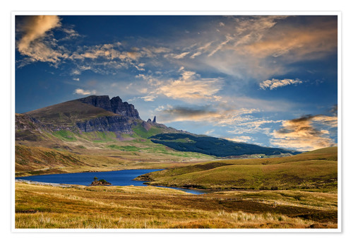 Premium-plakat Scotland - Old Man of Storr at the isle of Skye
