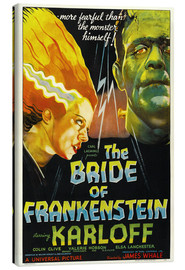 Lærredsbillede  The Bride of Frankenstein