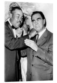 Akrylbillede  Max Schmeling and Joe Louis