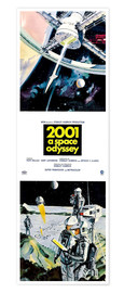 Premium-plakat  2001: A Space Odyssey 1968