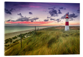 Akrylbillede  Lighthouse List East (Elbow/Sylt) - Dirk Wiemer