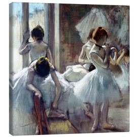 Lærredsbillede  Group of Dancers - Edgar Degas