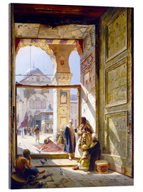 Akrylbillede  The Gate of the Great Umayyad Mosque, Damascus - Gustave Bauernfeind
