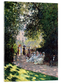 Akrylbillede  The Parc Monceau - Claude Monet