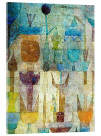 Akrylbillede  Plants early in the morning - Paul Klee
