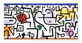Premium-plakat  Rich Harbour - Paul Klee