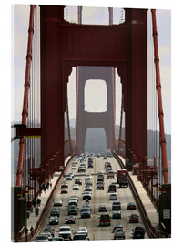 Akrylbillede  Golden Gate Bridge - Marcel Schauer