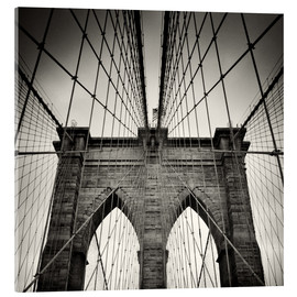 Akrylbillede  Brooklyn Bridge, New York City - Alexander Voss