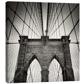 Lærredsbillede  Brooklyn Bridge, New York City - Alexander Voss