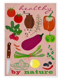 Premium-plakat Healthy by nature II