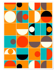 Premium-plakat  Panton Pop - Mandy Reinmuth