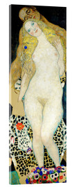Akrylbillede  Adam and Eve - Gustav Klimt