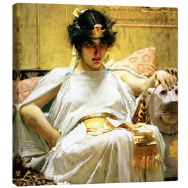Lærredsbillede  Cleopatra - John William Waterhouse