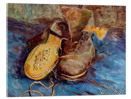 Akrylbillede  The Shoes - Vincent van Gogh